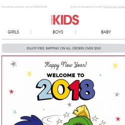 [Cotton On] Happy New Year from Cotton On Kids!