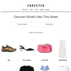 [Farfetch] New in: new year, brand-spanking new you