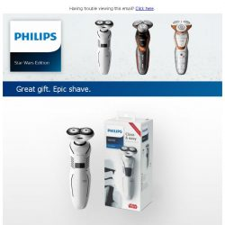 [PHILIPS] Give a gift that's out of this world
