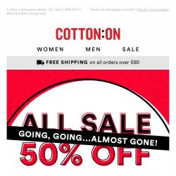 [Cotton On] SALE get it while it's good ⏱️💥
