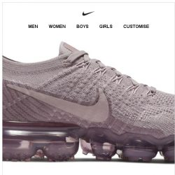 [Nike] Just for Her: Air VaporMax Flyknit