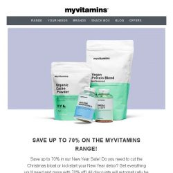 [MyVitamins] Save up to 70% PLUS an extra 15%!