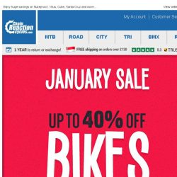 [Chain Reaction Cycles] Ride On: Up to 40% off Bikes