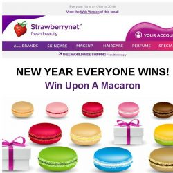 [StrawberryNet] , Last Chance to Win a New Year Cash Off, a Discount, or a Free Gift!