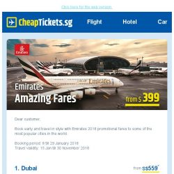 [cheaptickets.sg] Catch Emirates deals to Australia, Europe and more from only S$399!