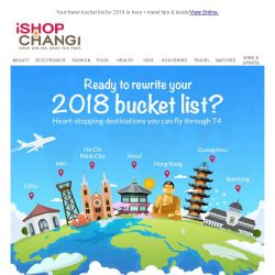 [iShopChangi] L👀king for your next adventure?