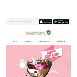 [Floweradvisor] RELOVELUTION: Spoil Her with Affection and Grab a Special 18% Off