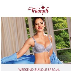 [Triumph] ⚡️ Hurry! Weekend Bundle Deal - Limited Time Only!