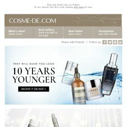 [COSME-DE.com] Your Skincare Solutions are here🌟Giveaway Time!