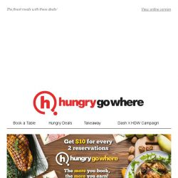 [HungryGoWhere] 50% Off Buffet for 2nd Diner, 50% Off for 2nd Royal Don, 3-for-2 Korean BBQ Buffet & more Red Hot Delicacies!