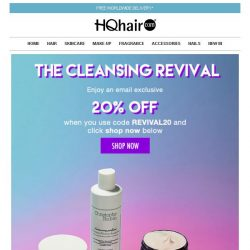 [HQhair] The Cleansing Revival | Save 20% Inside