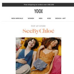 [Yoox] See by Chloé: a boho-chic collection
