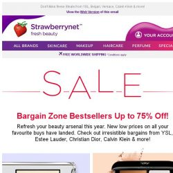 [StrawberryNet] Best Bargain Beauty Buys EVER. Up to 75% Off New Low Prices!