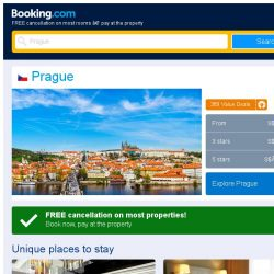 [Booking.com] Deals in Prague from S$ 51