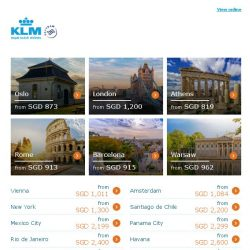 [KLM] ✈ , yes! Dream Deals have arrived