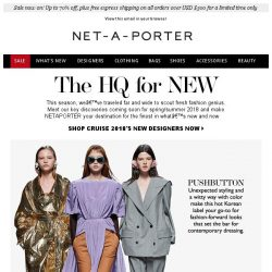 [NET-A-PORTER] The new names to know