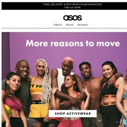 [ASOS] Find more reasons to move
