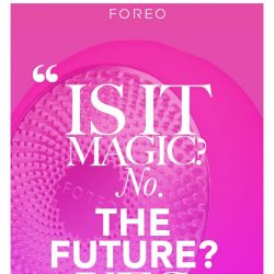 [Foreo] Reviewers are gushing: UFO is the next big thing!