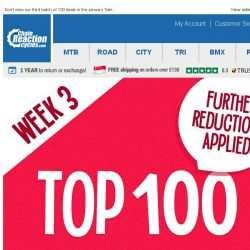 [Chain Reaction Cycles] Week 3: Top 100 Deals!