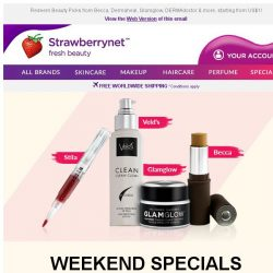 [StrawberryNet] , Got US$1? Trade it for a Full-Sized Product at Checkout this Weekend!