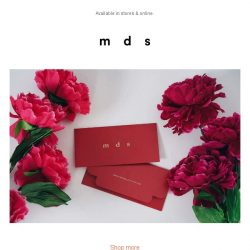 [MDS] Receive your MDS red packets with $50 spent on regular items in a single purchase.