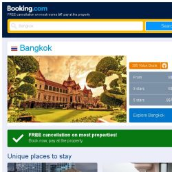[Booking.com] Deals in Bangkok from S$ 14