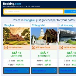 [Booking.com] Prices in Bangkok are dropping for your dates!