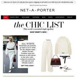 [NET-A-PORTER] Get it white