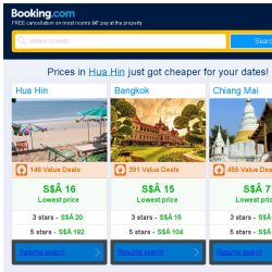 [Booking.com] Prices in Hua Hin are dropping for your dates!