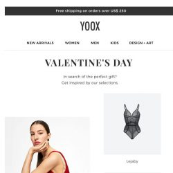 [Yoox] Valentine's Day: gift ideas for him and for her