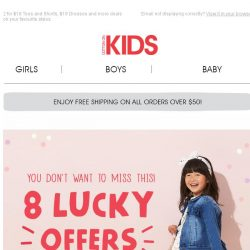 [Cotton On] 8 LUCKY Offers Just For You!