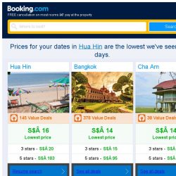 [Booking.com] Prices in Hua Hin dropped again – act now and save more!