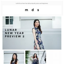 [MDS] Lunar New Year Preview 2.