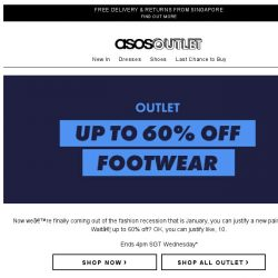 [ASOS] Up to 60% off shoes and trainers
