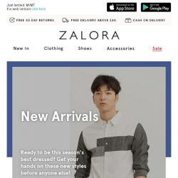 [Zalora] Make some space: NEW week threads