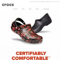 [Crocs Singapore] Certifiably Comfortable! Discover Iconic Crocs at Work Collection!