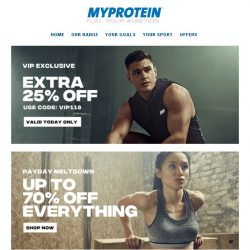 [MyProtein] , Here is Your Exclusive Code.