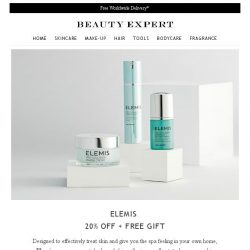 [Beauty Expert] Elemis | Save 20% Inside + Free Gift