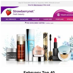 [StrawberryNet] February Top 40 Cult Must-Haves Up to 70% Off