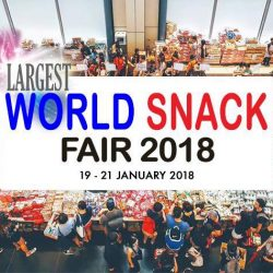 Suntec Singapore: World Snack Fair 2018