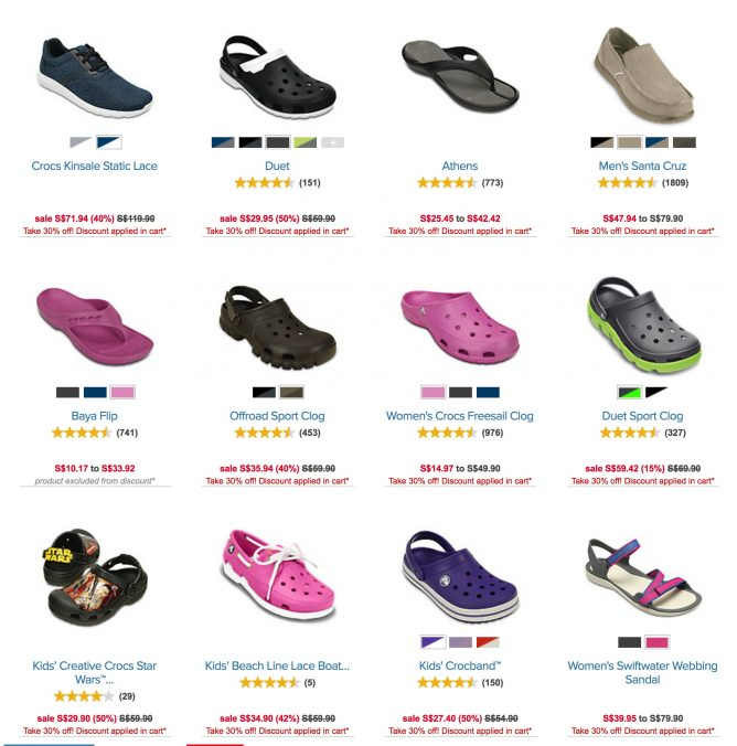76d1485dd2c Crocs Singapore  Take An Extra 30% OFF Sale Styles! Limited time ...