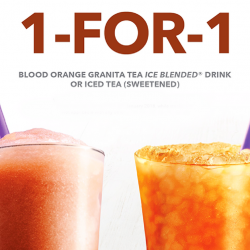 The Coffee Bean & Tea Leaf: Enjoy 1-for-1 Granita Tea Ice Blended or Sweetened Iced Tea