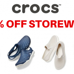 Crocs Singapore: Coupon Code for 25% OFF Storewide