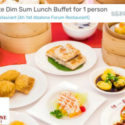 Ah Yat Abalone Forum Restaurant: Save 41% on A La Carte Dim Sum Lunch Buffet!