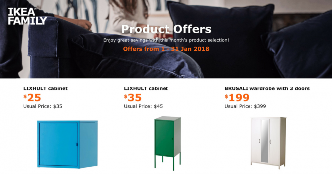 Ikea Special Offers For Ikea Family Members With Up To 200 Off