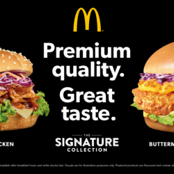 McDonald's: NEW Addition to the Signature Collection - BBQ Pulled Chicken Burger