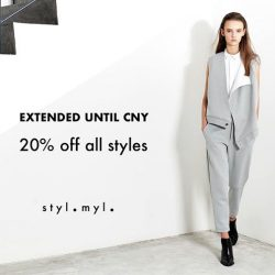 [Revolte X She Shops] EXTENDED PROMO ALL THE WAY UNTIL CHINESE NEW YEAR!