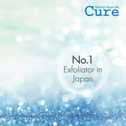 [Watsons Singapore] Literally cure your face with CURE Natural Aqua Gel – the 1 exfoliator in Japan, sold every 7.