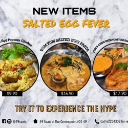 [49 Seats] SALTED EGG EVERYTHING !