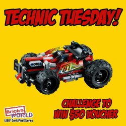 [Bricks World (LEGO Exclusive)] 2018's First Technic Tuesday Starts with a BASH!